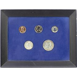 1958 (5) Coin Proof Set in Frame