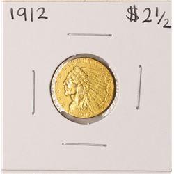 1912 $2 1/2 Indian Head Quarter Eagle Gold Coin