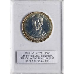 1967 Limited Edition Sterling Silver Proof Presidential Medal