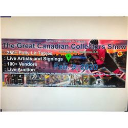 GREAT CANADIAN COLLECTOR SHOW SCHEDULED FOR FEB 9 2020!!