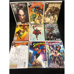 COMIC BOOK LOT (SUPERMAN/ IRON MAN...)