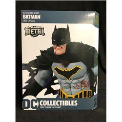 LIMITED EDITION DC Designer Series 11 Inch Statue Figure Batman - Metal Batman by Capullo