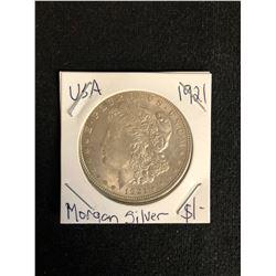 1921 U.S.A MORGAN SILVER DOLLAR