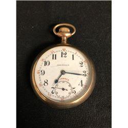 Aberdeen 21 Jewel 18s Pocket Watch (Engraved Empress Case)