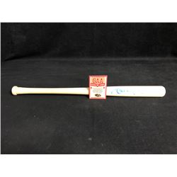 MICKEY MANTLE SIGNED MINI BAT (GAA COA)