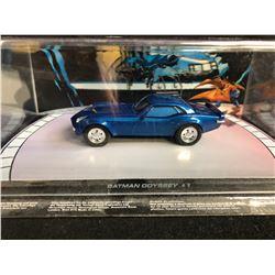 Batmobile Automobilia #63 Batman Odyssey #1 Eaglemoss Car 1:43 Scale