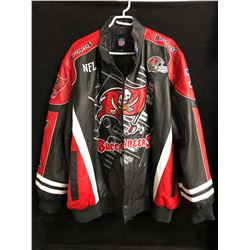 TAMPA BAY BUCCANEERS LEATHER JACKET (XXXL)
