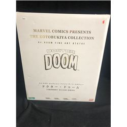 MARVEL COMICS PRESENTS THE KOTOBUKIYA COLLECTION DR. DOOM FINE ART STATUE