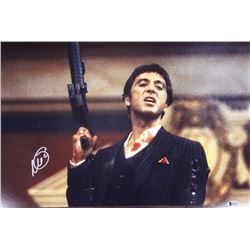 "Al Pacino Signed ""Scarface"" 16x20 Photo (Beckett COA)"
