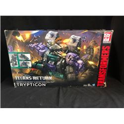 TRANSFORMERS TITANS RETURN DECEPTION NECRO & DECEPTICON FULL-TILT TRYPTICON (HASBRO)