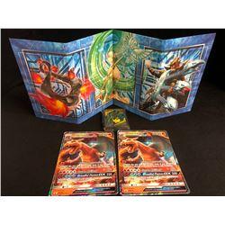 Charizard Gx Sm195 Ultra Rare Holo Black Star Promo Pokemon Card Lot