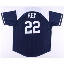 JIMMY KEY SIGNED YANKEES JERSEY (PSA COA)