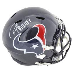 Demaryius Thomas Signed Houston Texans Full-Size Speed Helmet (Beckett COA)