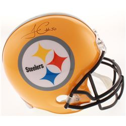 James Conner Signed Pittsburgh Steelers Full-Size Helmet (Schwartz COA)