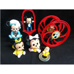MICKEY & MINNIE MOUSE TOY FIGURES LOT