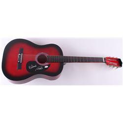 Cheech Marin & Tommy Chong Signed Acoustic Guitar (JSA COA)