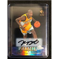 KEVIN DURANT SIGNED PREMIER PROSPECTS BASKETBALL CARD
