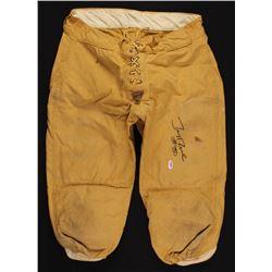 Jerry Rice Signed Vintage Football Pants (PSA COA)