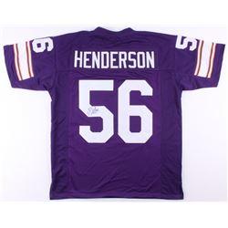 E. J. Henderson Signed Jersey (JSA COA)