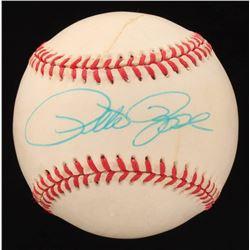 Pete Rose Signed ONL Baseball (Beckett COA)