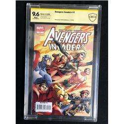 AVENGERS/ INVADERS #4 (MARVEL COMICS) 2008 **CBCS GRADED 9.6**