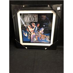 RETURN OF THE JEDI 14 X 14 FRAMED WALL SIGN