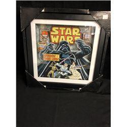STAR WARS 14 X 14 FRAMED WALL SIGN