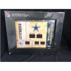 NFL TEAM SCOREBOARD CLOCK (DALLAS COWBOYS)