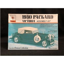 RENWAL 1930 PACKARD VICTORIA 1:48 SCALE MODEL ASSEMBLY KIT
