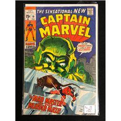 CAPTAIN MARVEL #19 (MARVEL COMICS) 1969