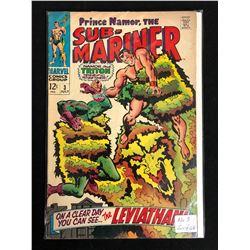 SUB-MARINER #3 (MARVEL COMICS) 1968