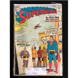 SUPERMAN #163 (DC COMICS) 1963