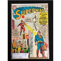 SUPERMAN #168 (DC COMICS) 1964