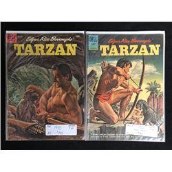 1950-60's TARZAN COMIC BOOK LOT