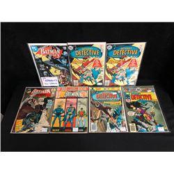 DC COMICS BOOK LOT (BATMAN/ BATMAN'S DETECTIVE)