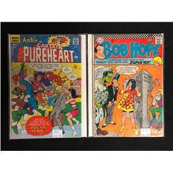 1967 COMIC BOOK LOT (CAPTAIN PUREHEART #6/ BOB HOPE #103)