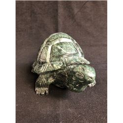 LARGE GREEN JADE TURTLE ( 6LBS TOTAL WEIGHT)
