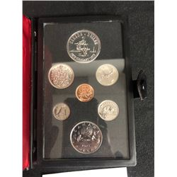1975 Canadian Double Dollar Proof Set