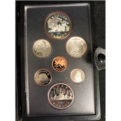 1981 Canadian Double Dollar Proof Set