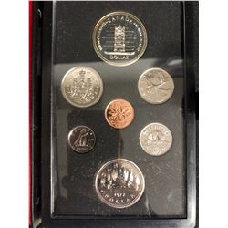 1977 Canadian Double Dollar Proof Set
