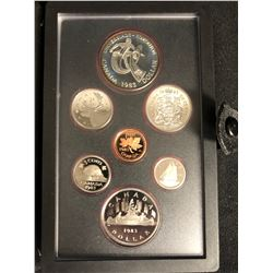 1983 Canadian Double Dollar Proof Set