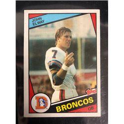 1984 Topps #63 John Elway RC