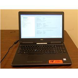 Dell Precision 7520 Laptop Intel Core i7 2.3 GHz 16384 MB RAM (No A/C Adapter, no hard drive)