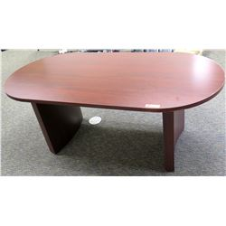Wooden Oval Office Conference Table