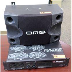 Peavey CS-800S Power Amp w/ BMB CS-252V Speaker
