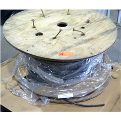 Large Wooden Spool MLC11-10A-008R-200ft HK Black 85030057 Cable