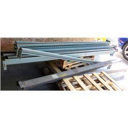 Multiple Metal Adjustable Shelving Crossbeams