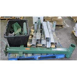 Multiple Metal Steel Square & Round Heavy Duty Supports, Brackets, etc