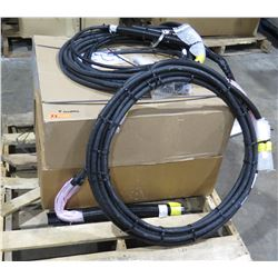Qty 2 Boxes Radio Frequency Systems 75900281 & 2 Coils Sprint H103XC Fiber Optic Cable