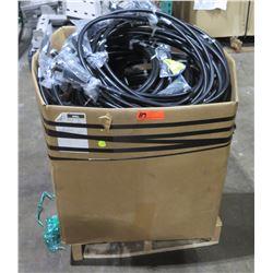 "Box Ribbed Cable H172XC030 Jumper Coax 1/2"" 4.3/10 Cable w/ Connectors"